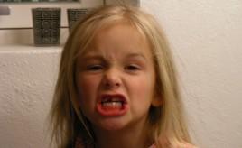 første tand tabt