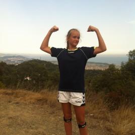 løbetur op på Rocky bjerget