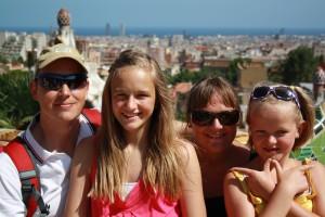 Barcelona, fam Andersen