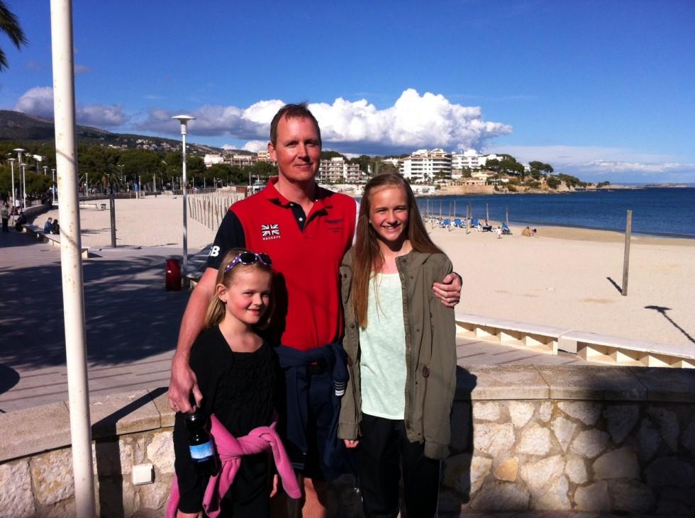 Mallorca april, skolen lukket pga lockout